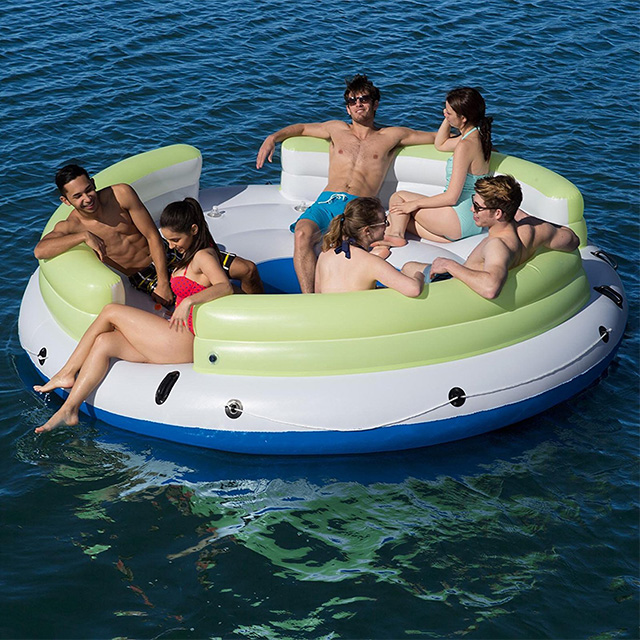 Six Person Floating Island