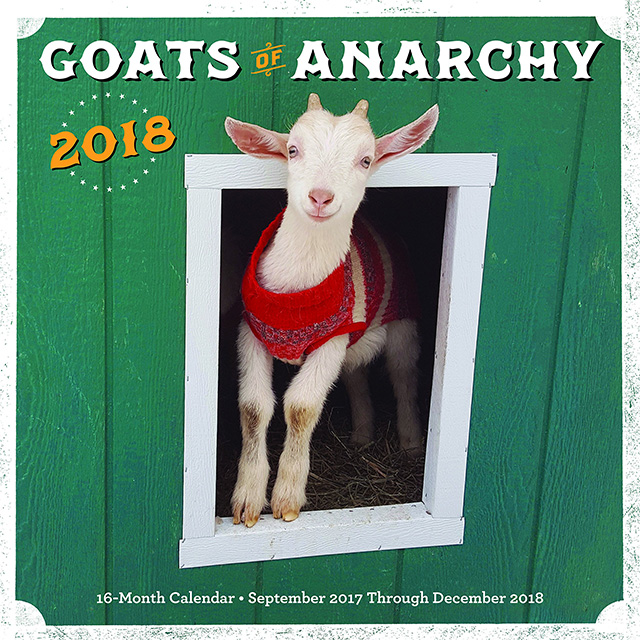 Goats of Anarchy 16 Month Calendar