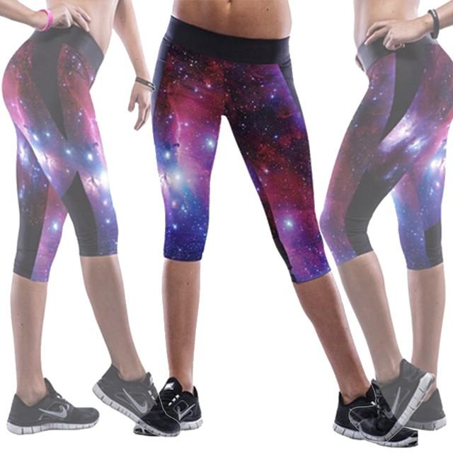 3D-Printed Galaxy Yoga Pants
