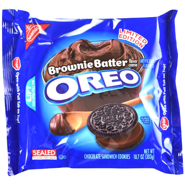Brownie Batter-Filled Oreos