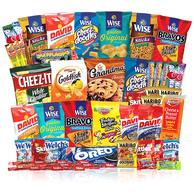 Huge Box of Snacks - 50ct.