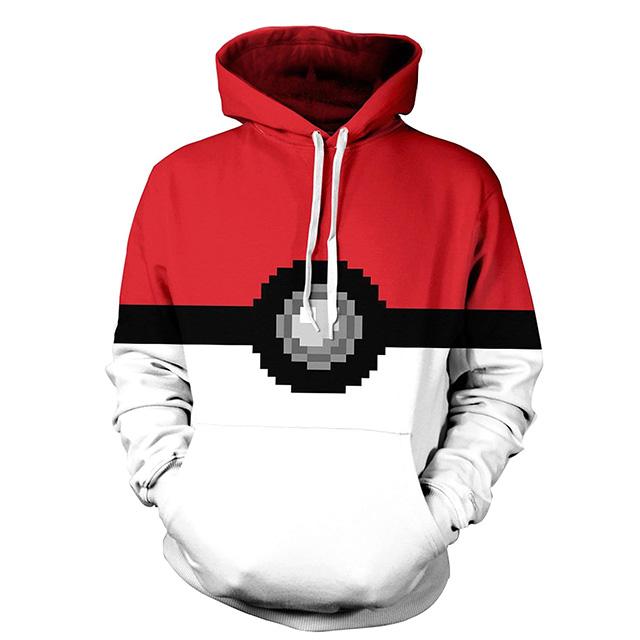8-Bit Pokéball Sweater