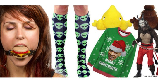drunkNews: The Huffington Posts' Weird Christmas Gift Guide 2015