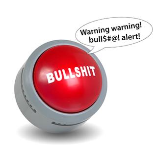 """Bullshit"" button"