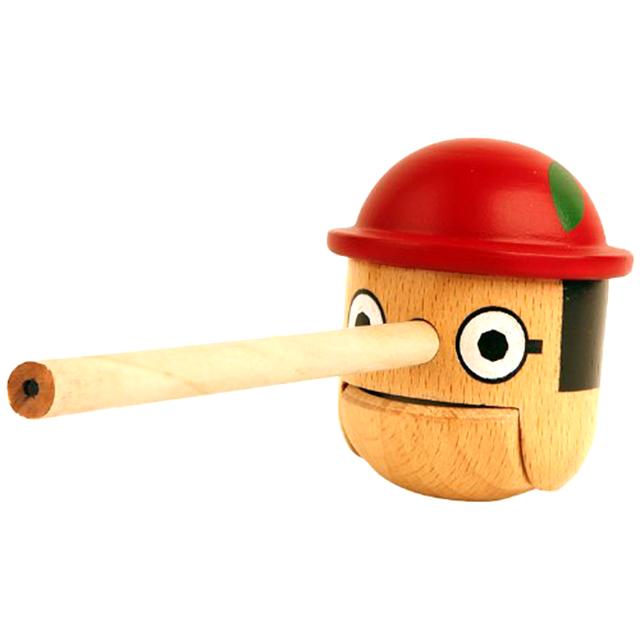 """Honest Boy"" Pencil Sharpener"