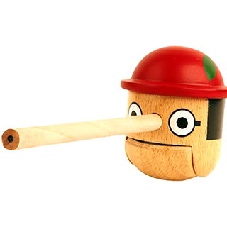 """Honest Boy"" Pencil Sharpener"