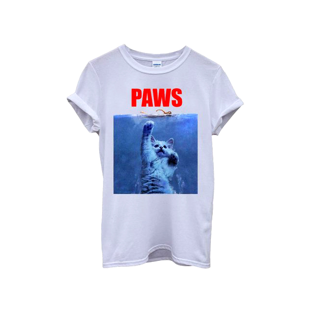 """PAWS"" t-shirt"