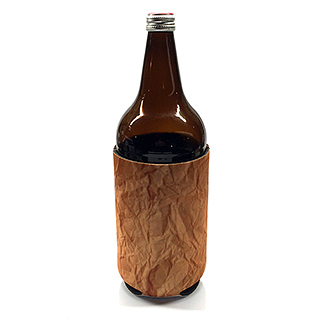 """The Brown Bag"" 40 oz. Koozie"