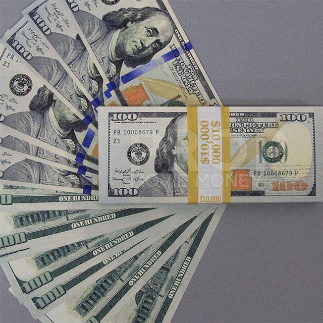 10 Stacks of Fake Benjamins