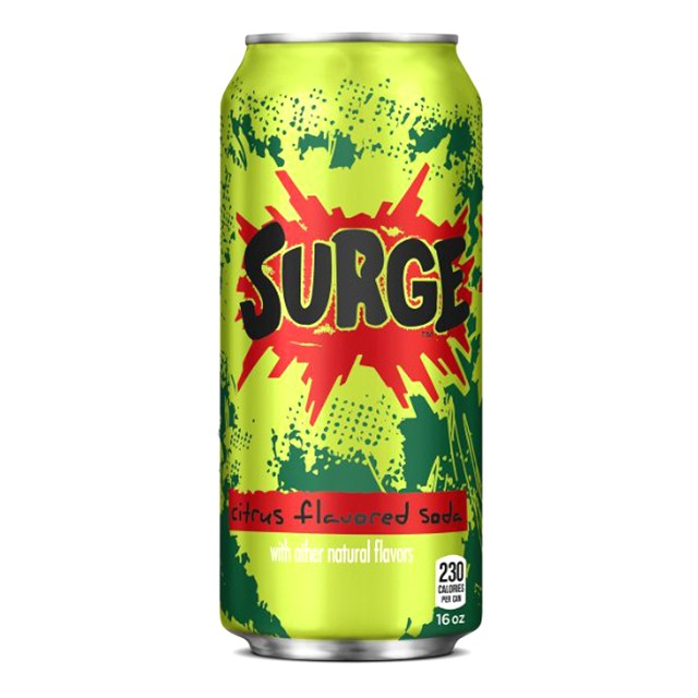 12 Pack of Surge Cola