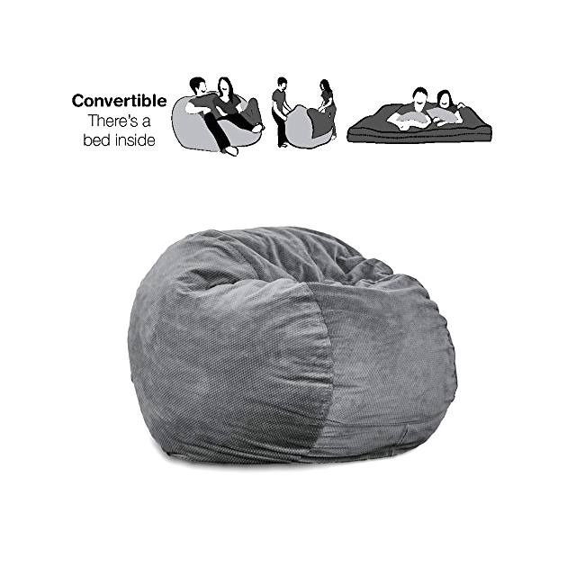 2-in-1 Beanbag Chair and Bed