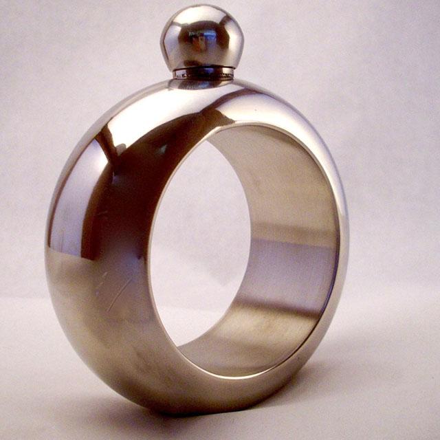 Bangle Bracelet with Hidden Flask
