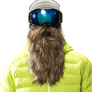 Bearded Ski Goggles