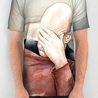 Capt. Picard Facepalm t-shirt