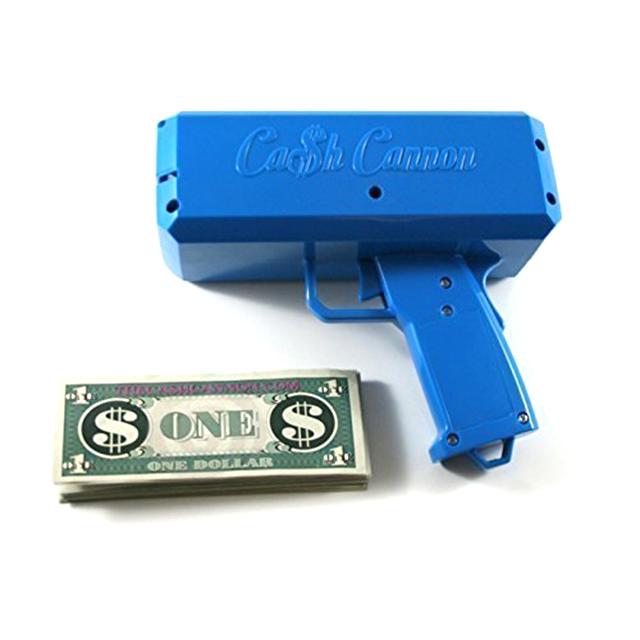 "Cash Cannon: The ""Make It Rain"" Gun"