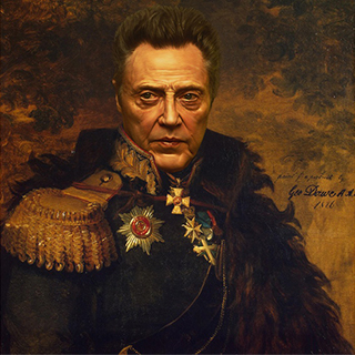 Christopher Walken art