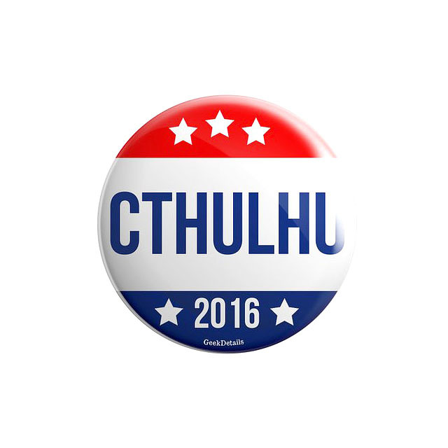 Cthulhu 2016 campaign button