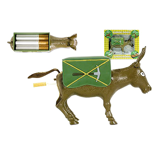 Donkey's Butt Cigarette Holder and Dispenser