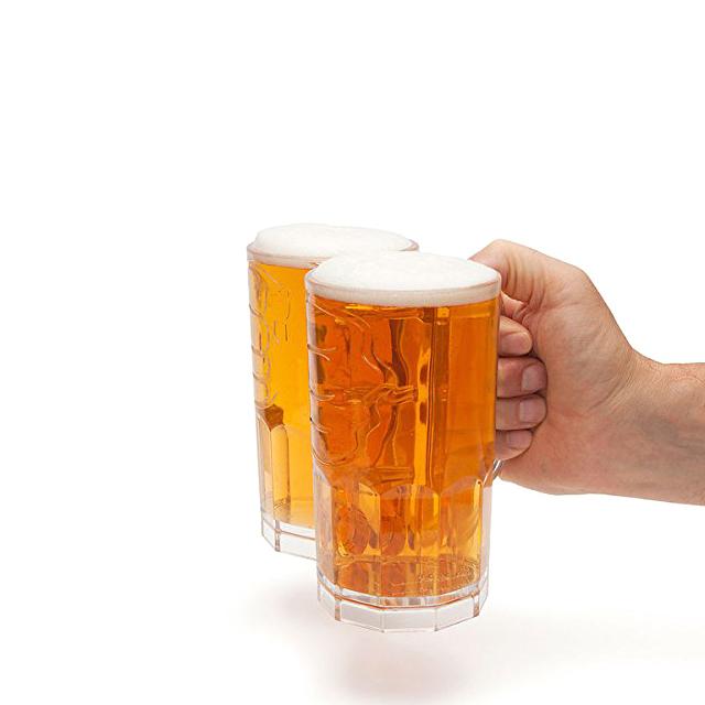 Double-Fisting Beer Mug