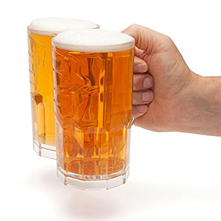 Double-Fisting Beer Mug