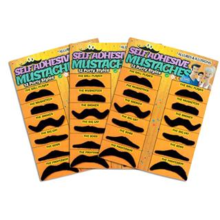 Fake Mustache Variety Pack