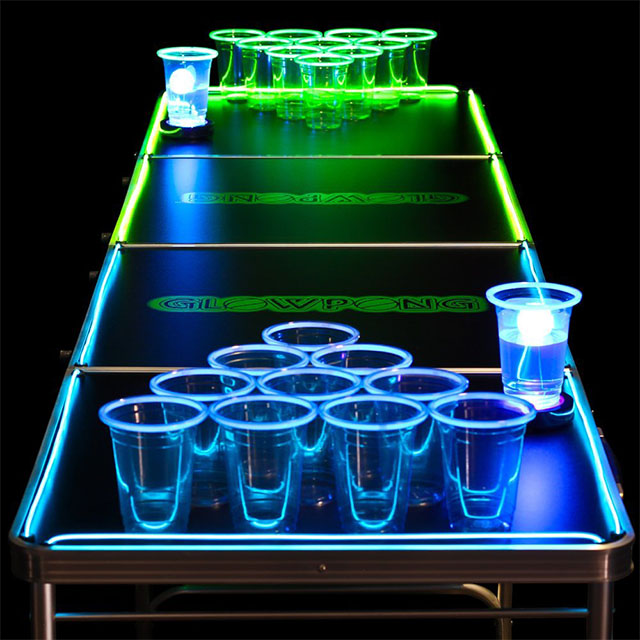 Glowpong: LED Beer Pong Table