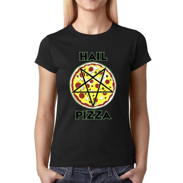 Hail Pizza Pentagram Shirt