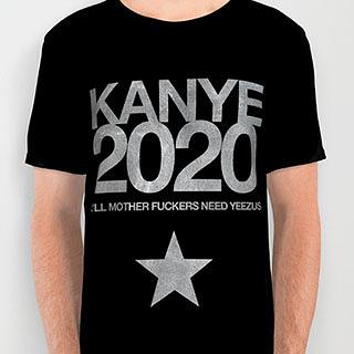 Kanye 2020 shirt