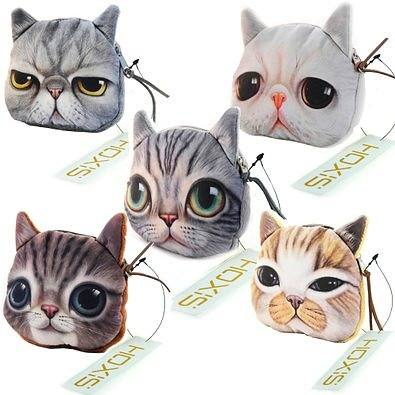 Kitty Cat Coin Purses
