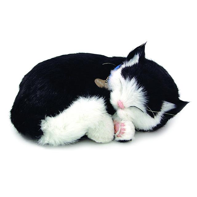 Lifelike Sleeping Kitten electronic pet