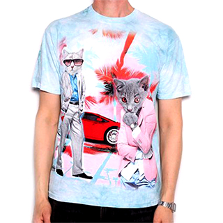 Meow-ami Vice T-Shirt