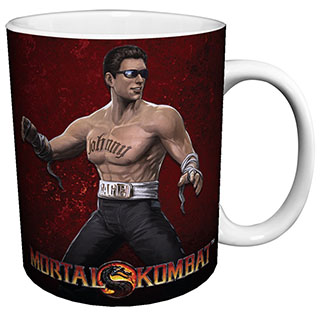Mortal Kombat Johnny Cage Mug