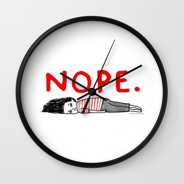 NOPE. clock