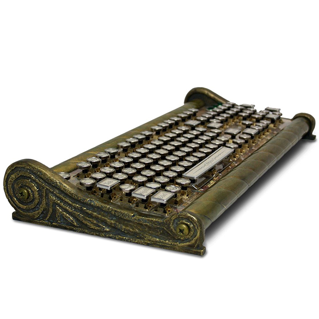 Nautical Steampunk Computer Keyboard