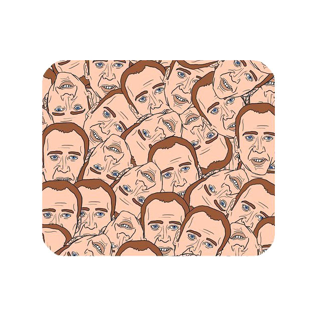 Nicolas Cage mousepad