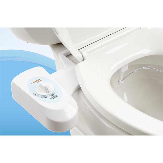 Non-Electric Bidet Toilet Seat Attachment