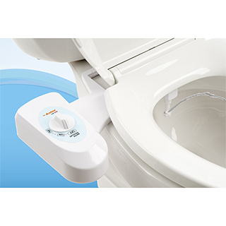 Non-Electric Bidet Toilet Seat Attachment
