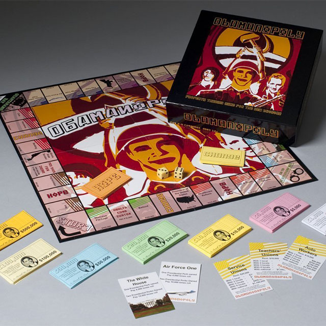 Obamanopoly board game