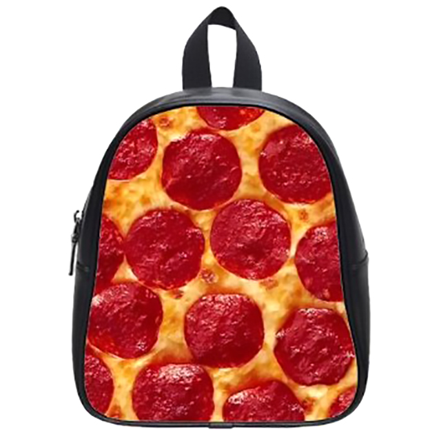 Pizza Design Mini Backpack