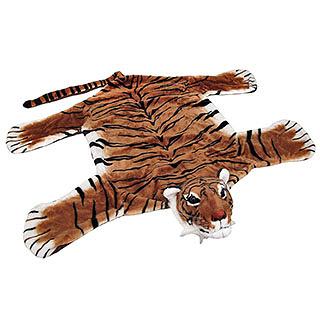 Plush Tiger Rug