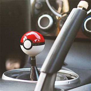 Pokeball Shifter Knob