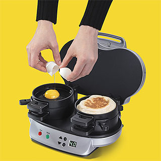 Ready-to-Eat Breakfast Sandwich Machine