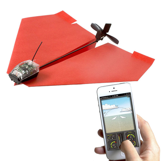 Remote Control Paper Airplane