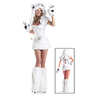 Sexy Polar Bear Outfit