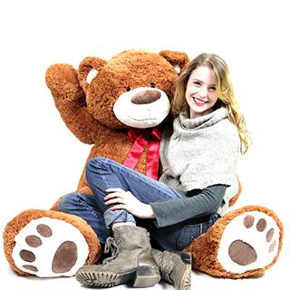 Super-Sized Teddy Bear