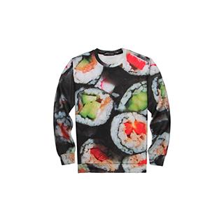 Sushi Rolls Sweater