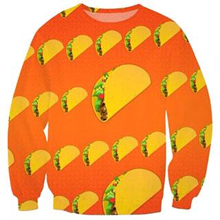 Taco Emoji Sweater