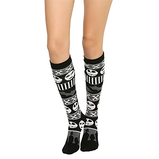 The Nightmare Before Christmas Knee Socks