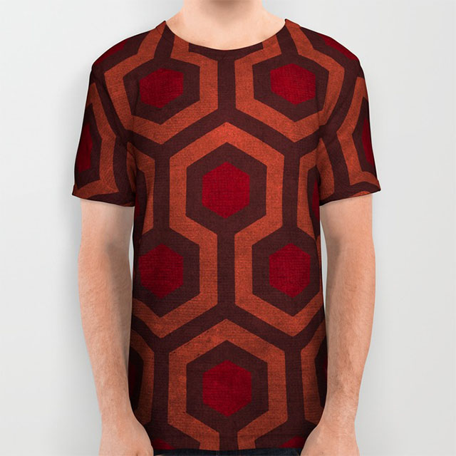 The Shining's Overlook Hotel Carpet t-shirt