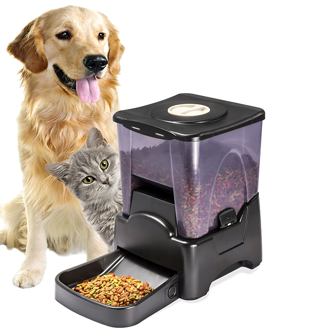 Time-Released Pet Feeder
